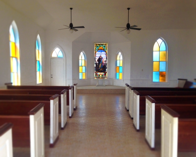 Step back in time and enjoy the beautifully restored interiors complete with stained glass windows.