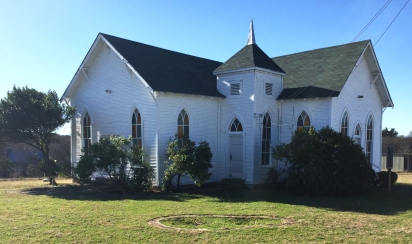This quaint little country church is a Texas Historical Marker #1204.